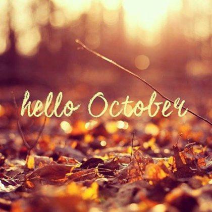 Calendario eventi mese di Ottobre 2018